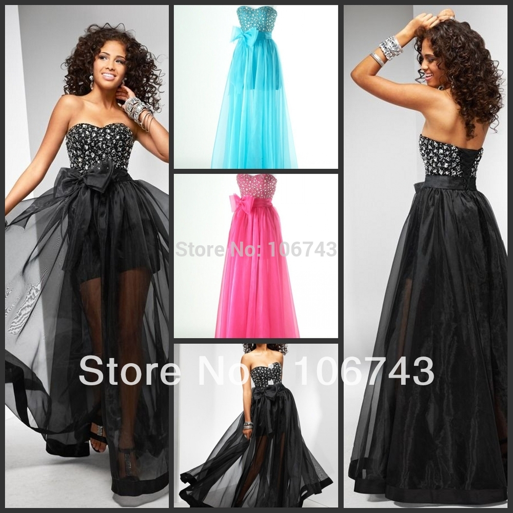 Free Shipping 2018 Best Seller New Hot Bride Custom Size Crystal Black Tulle Beading Sweetheart Party Gown Bridesmaid Dress