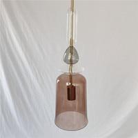 Cheap Christmas Blue Glass Lamp Shades Chandelier Lighting Pendant Lamp Kitchen Dining Bar kitchen dining bar