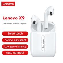 Lenovo X9/X18/XT90/XT91/LP1 TWS kulakiçi Bluetooth 5.0 gerçek kablosuz kulaklık dokunmatik kontrol spor kulaklık Sweatproof kulaklık