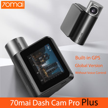 Versão global 70mai traço cam pro plus 1994p hd carro dvr gravação de vídeo 24h estacionamento monitor 70 mai traço câmera visão noturna