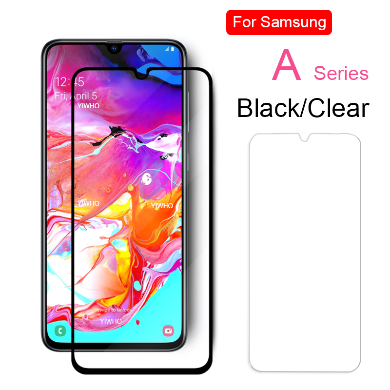2 Pcs Screen Protector For Samsung A70 A20 A30 A40 A50 2019 Tempered Protective Glass For Samsung Galaxy A 20 30 40 50 70 Film