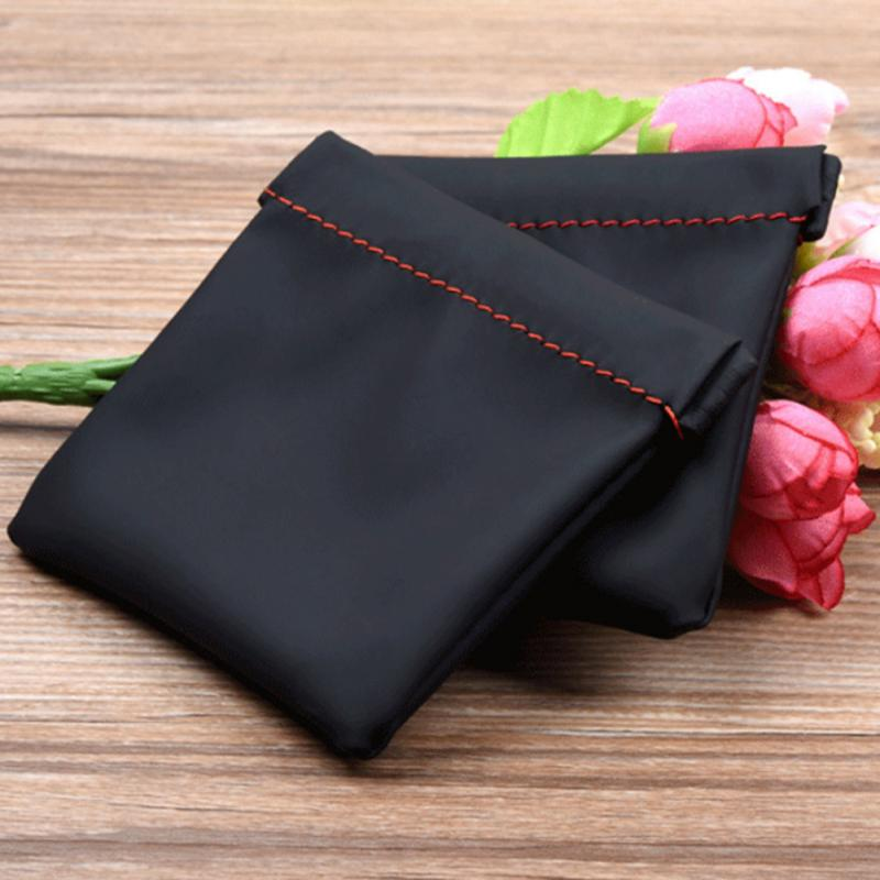 High Quality Waterproof Mini Portable PU Leather Case Headset Earphone Earbud Storage Pouch Bag Protective Case