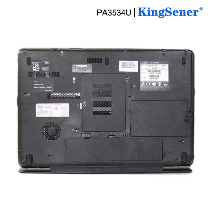 Image 4 - KingSener PA3534U 1BRS Laptop Battery for Toshiba Satellite A200 A210 A300 A350 L300 L500 L500D PA3533U PA3534U PA3535U 1BAS-in Laptop Batteries from Computer & Office