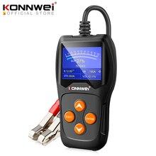 Konnwei KW600 Auto Batterij Tester 12V Digitale Kleurenscherm Auto Battery Analyzer 100 2000CCA Zwengelen Opladen Auto Diagnostische