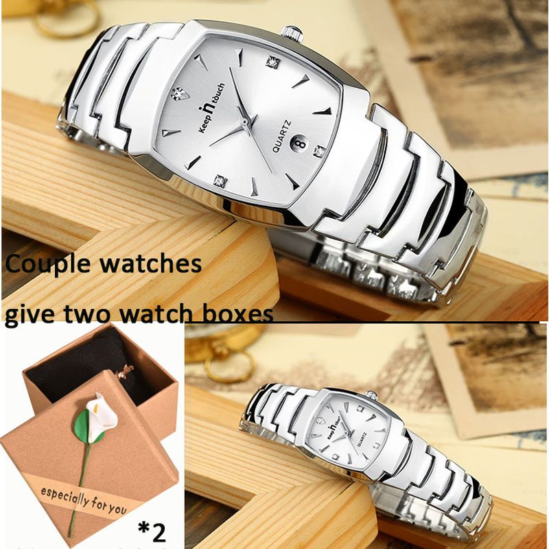 Fashion Couple Watch Waterproof Clock Gifts Paired Watches Luxury Brand Business Couples Watch Man And Ladies Quartz Wristwatch