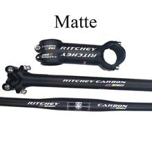คาร์บอนไฟเบอร์Mtb 3K Matte Glossyชิ้นส่วนจักรยานคาร์บอนคาร์บอนSeatpostสำหรับขาย