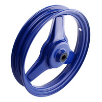 Front Wheel Rim 10 Inch Replacement for Yamaha PY50 PW50 PEEWEE PY PW 50 Blue