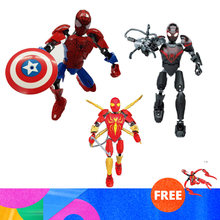 2019 Marvel Super Heros Set Spiderman Mech Venom Mecha Compatible With Legoinglys Building Blocks Toys For Children(China)