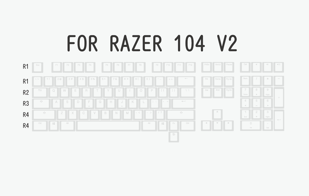 布丁V2白白-razer 104