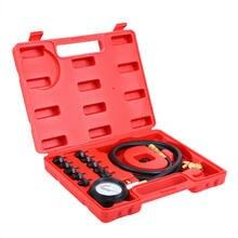Samger testeur de pression d'huile avec adaptateur   Ensemble de jauge de pression à huile 12 pièces