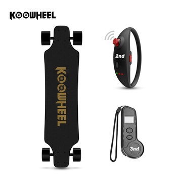 Patinete eléctrico Koowheel 2nd actualizado, patinete eléctrico de 4 ruedas, Hoverboard eléctrico, Longboard, 42 km/h, Motor Dual Onyx, patinete eléctrico