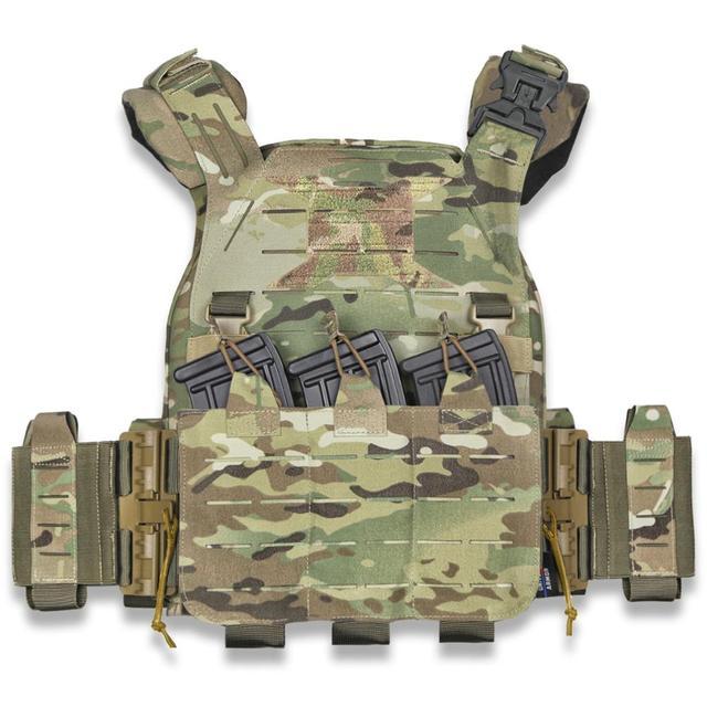 1//6 Scala Soldato Accessori modello CIA agenti armati Telaio Piastra giubbotto antiproiettile