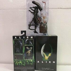 Фигурка большого человечка «чужой» NECA Alien, бесконечная 40-я годовщина, яйцо инопланетянина, Facehugger Alien, фигурка, игрушки в подарок