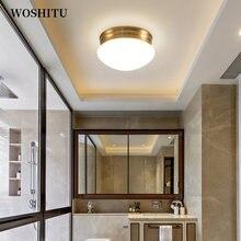 Современный светодиодный потолочный светильник простой круглый