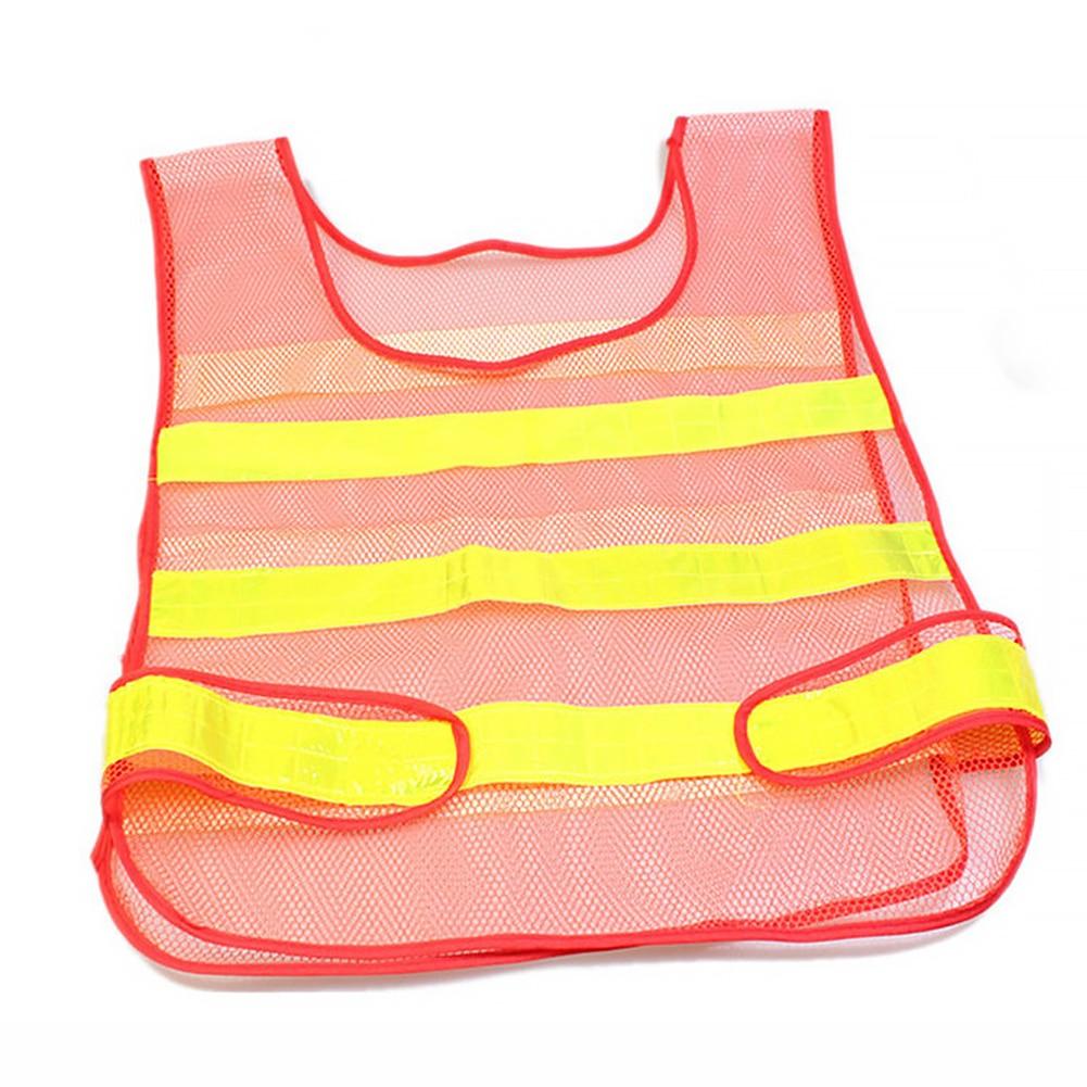 Transpirable Tr/áfico Trabajo Nocturno Seguridad Correr Ciclismo Seguridad Chaleco Reflectante Chaqueta de Seguridad Reflectante de Alta Visibilidad