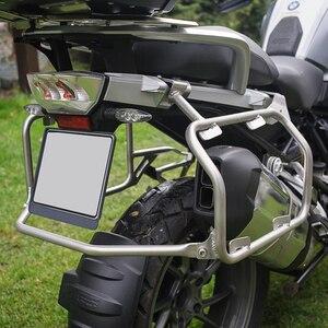 Image 4 - 2013 2019 R1250GS R1200GS LC ADV Packtaschen Rack Edelstahl Für BMW R 1250 GS R 1200 GS ADV top Fall Racks