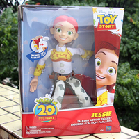 2019 Toy Story 4 Talking Jessie PVC Action Toy Figures Model Toys Collectible Doll Children Birthday Christmas Gift