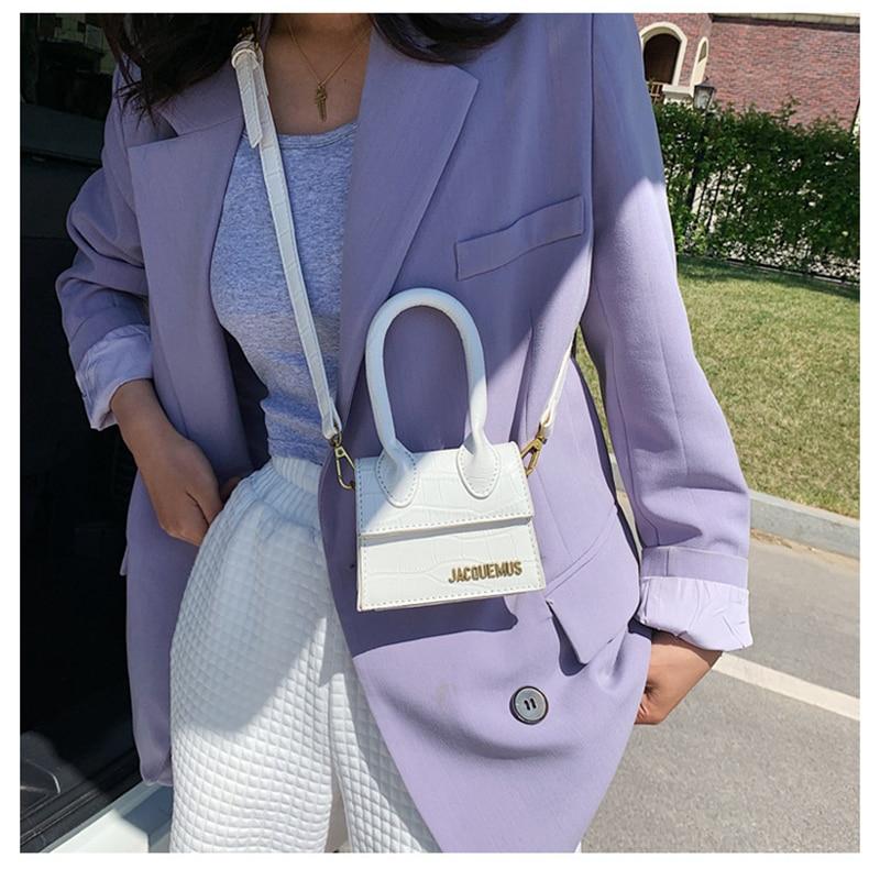 Jacquemus Mini Purses and Handbags for Women 2020 Crossbody Bag Famous Brand Totes Luxury Designer Hand Bags crocodile pattern|Top-Handle Bags| - AliExpress
