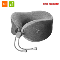 Original Xiaomi Lefan Portable U shaped Help Sleep Pillow Two Massage Mode Neck Pillows Bedsit Pillows for Office Home Travel