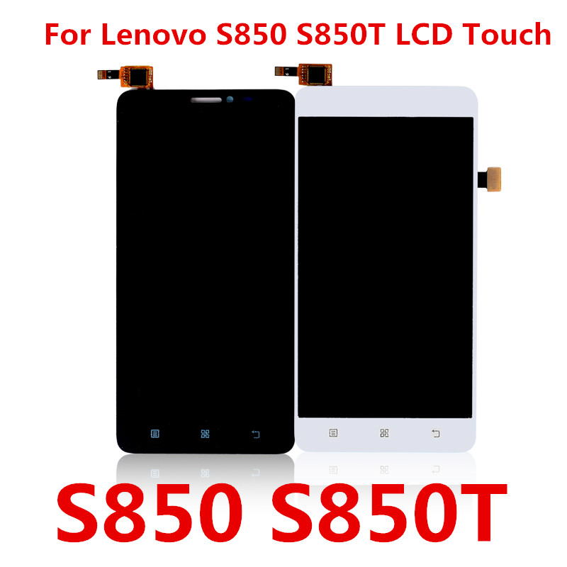 For Lenovo S850 S850T LCD Display With Touch Screen Digitizer Assembly LCD Display For Lenovo S850 Replacement Parts