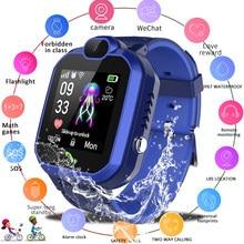 LIGE 2020 Neue Kinder Smart Uhr £ Basis Bahnhof Positioning Anti-verloren kinder Uhr IP67 Wasserdicht Kid Smartwatch + Box