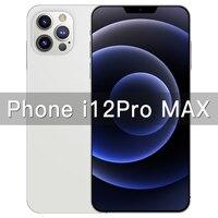Teléfono Inteligente i12 Pro Max, 6,7 pulgadas, GPS, Snapdragon 865, cámara de 48MP, 12GB, 512GB, 5000mAh, Android 10,0, diez núcleos, 4G, 5G, LTE