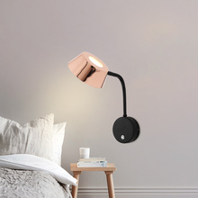 Modern  Sconce LED Wall Lamp Decor Designer Rotatable Wall Light Fixture Home Indoor Nordic Bedroom Wall Lights