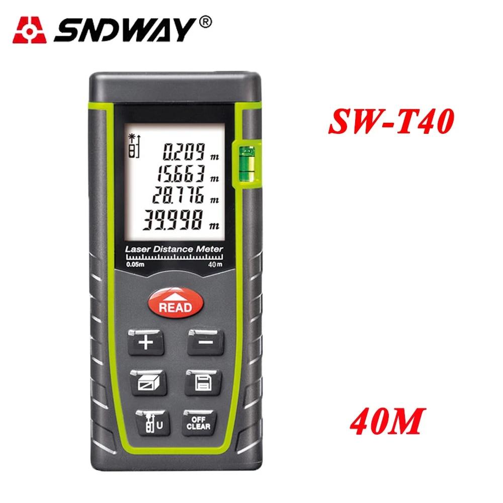 AMAZING~ SNDWAY Laser Distance Meter Rangefinder Laser Range Finder Measure Tool
