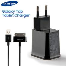 Tablet Original de Carregamento do Carregador de Parede de Viagem Para Samsung Galaxy Tab Nota 10.1 N8010 P6200 GALAXY Tab 7.0 Além Disso Tab 2 p5100 P3100