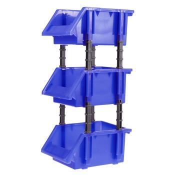 3 in 1 Tool Organiser Box Shelving Garage Storage Rack