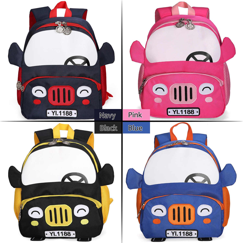 Mochilas escolares para niños, mochilas de dibujos animados en 3D, para niños de 2 a 5 años, bonito bolso de jardín de infantes 2019