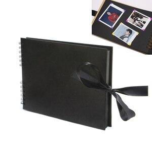 12 дюймов поделки фотоальбомы скрапбукинг бумага 80 страниц Скрапбукинг Фотоальбом для свадьбы юбилей подарки памяти книги