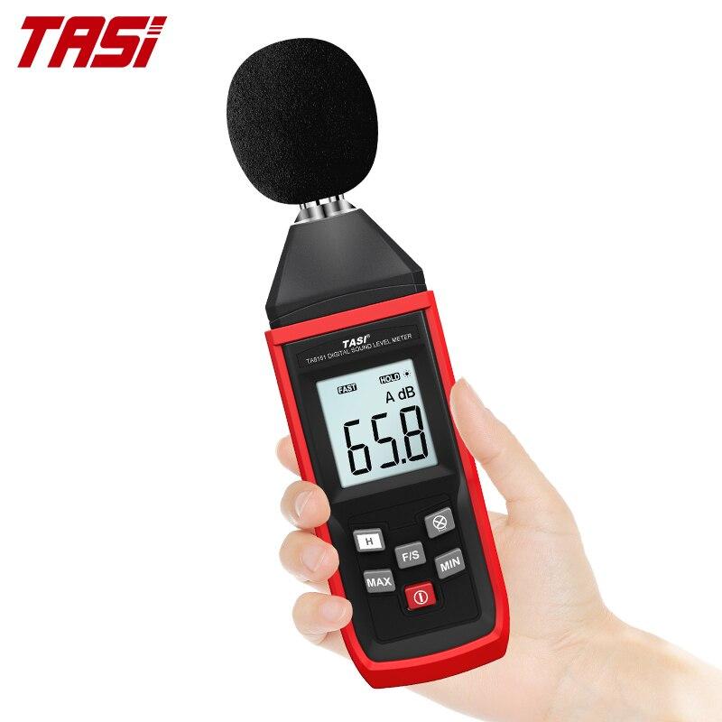 Цифровой шумомер TASI TA8151, измеритель уровня звука и шума 30-130 дБ
