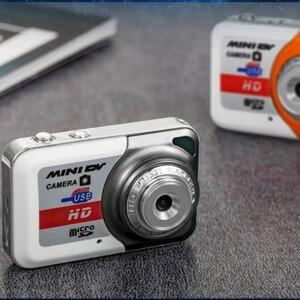 Image 3 - נייד X6 Ultra מיני HD גבוהה Denifition דיגיטלי מצלמה מיני DV תמיכת 32GB TF כרטיס עם מיקרופון USB דיסק און קי עבור מצלמה