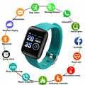 Smart Armband Smart Armband mit Ersatz Riemen Smart Band Herz Rate Aktivität Tracker Fitness 116plus Smart Uhr Pro