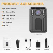 CammPro M1N HD waterproof security camera police body worn camera 140 degree police enforcement recorder