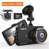 ThiEYE Carbox 5R Dash Cam réel 1080P Full HD caméra avant avec 720P HD IP67 résistant à l'eau caméra arrière double lentille voiture enregistreur