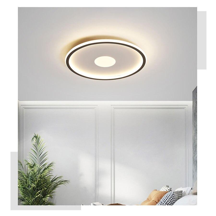 Luminária de teto led moderna com criação