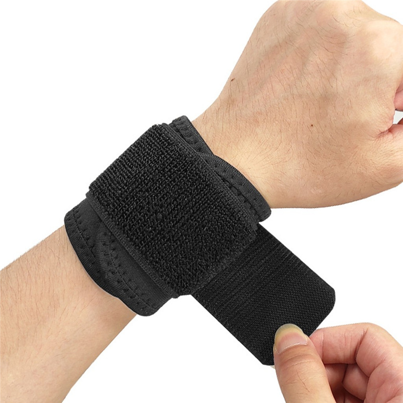 Sports Wrist Band Brace Wrap Adjustable Support Gym Strap Carpal Tunnel Bandage