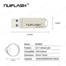 iphone/ipad/Lightning/ios/OTG flash drive memory stick pendrive mobile Micro USB Flash Drive 16GB 32GB 64GB pen drive usb3.0