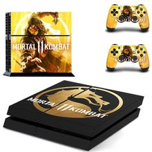 Mortal Kombat 11 Full Cover Faceplates PS4 Skin Sticker Decal For PlayStation 4 Console & Controllers PS4 Skin Sticker Vinyl