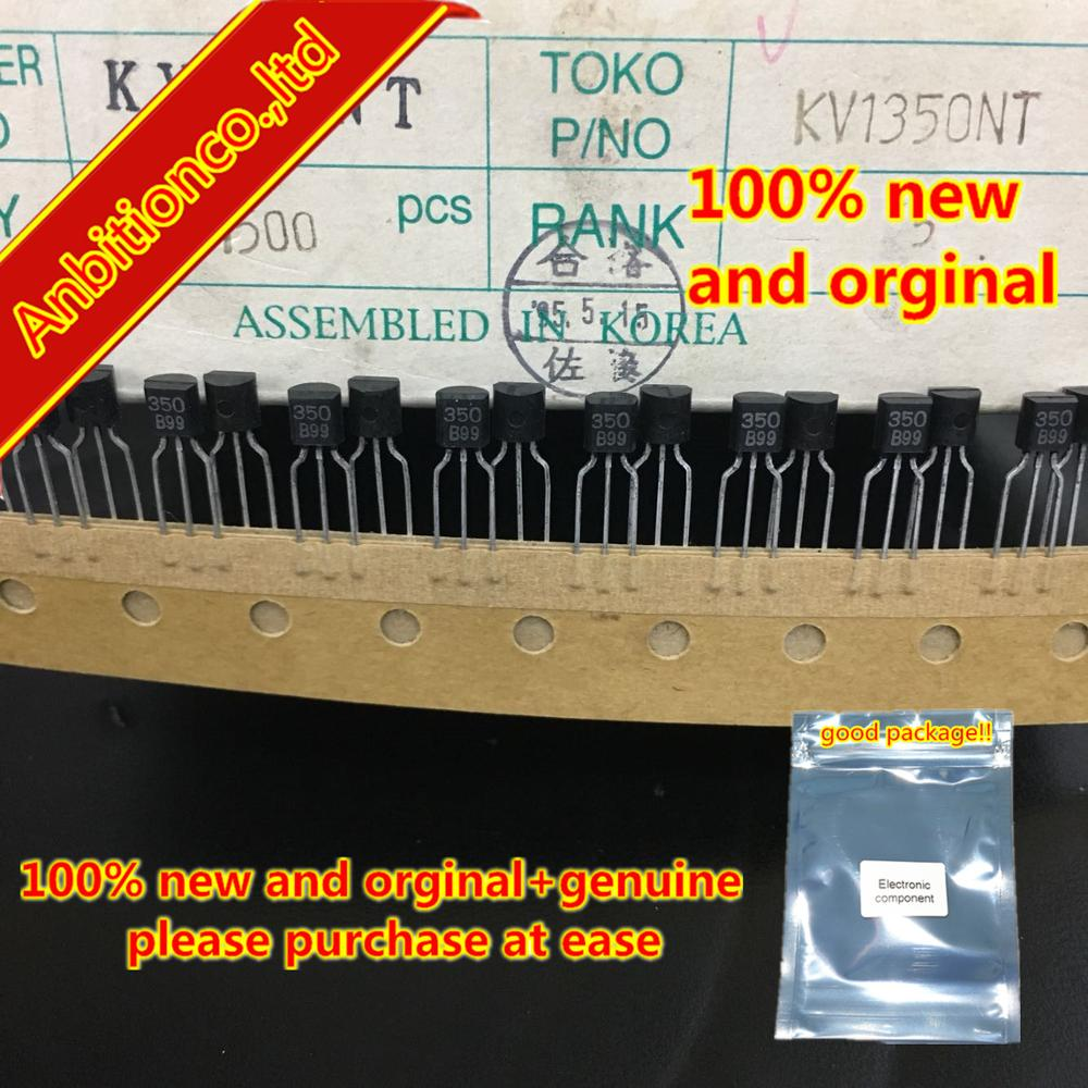 10pcs  100% New And Orginal KV1350NT 350 TO-92 VARIABLE CAPACITANCE DIODE In Stock
