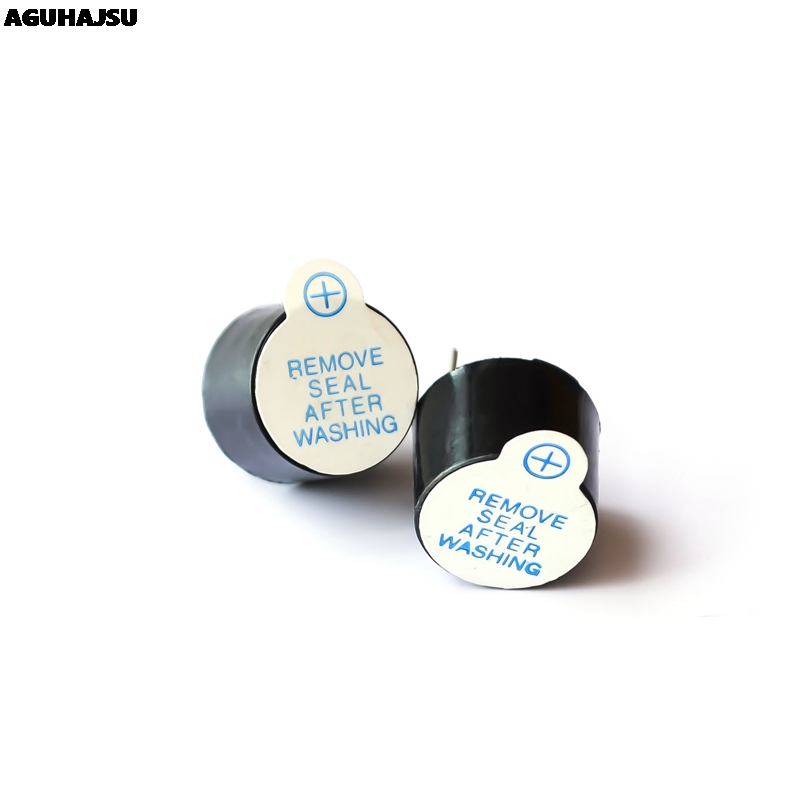 10pcs New Arrival 5v Active Buzzer Magnetic Long Continous Beep Tone 12*9.5mm