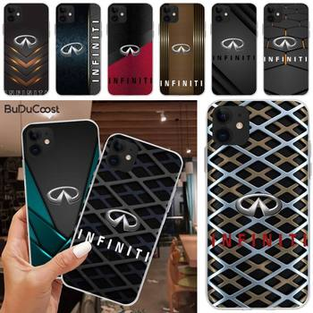 INFINITI car brand Phone Case For iphone 5C 5 6 6s plus 7 8 SE 7 8 plus X XR XS MAX 11 Pro Max image