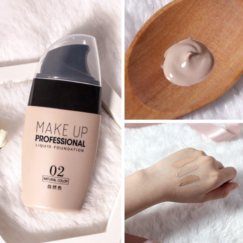 Мягкая матовая длительная Жидкая основа для макияжа лица, 30 мл, натуральный консилер, увлажняющий консилер, основа для макияжа TSLM1
