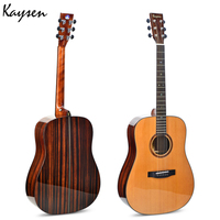 Kaysen 41 inch Guitar Top Quality Veneer Electric Box Guitar Red pine wood panel Folk Guitar Professional Guitarra AGT104