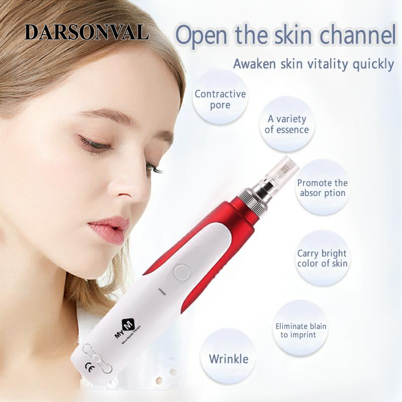 DARSONVAL Electric Bayonet MYM Dr Pen Wired Micro Needle Microniddle Roller For Face Tattoo-Machine Microneedeling Needling Pen