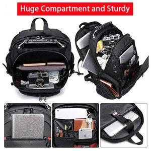 Image 2 - Male 45L Travel backpack 15.6 Laptop Backpack Men USB Anti theft Backpacks for teens schoolbag youth mochila women backbag