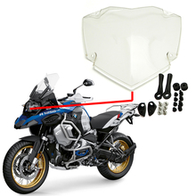 For BMW R1250GS/ADV LC Adventure 2019 R1250 GS Exclusive HP Transparent Motorcycle Headlight Guard Protector Cover Protection all new for bmw r1250gs gs r1250 gs adv lc 2019 headlight protector guard grill grille cover water cooled motorcycle accessories