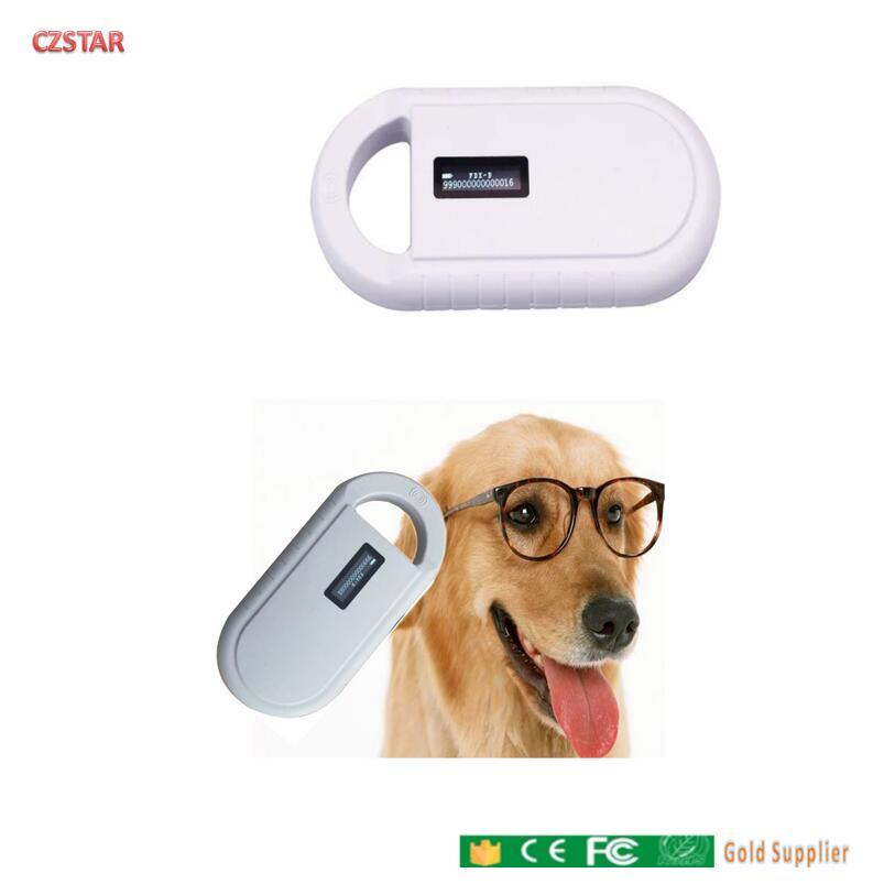 ISO11784/5 FDX-B Mini Animal Id Rfid Reader 134.2khz 125khz Microchip Pet Scanner Reader Animal Ear Rfid Reader